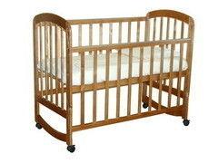 Детская кровать Кроватка Фея 304 Медовый