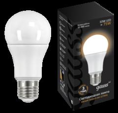 Лампа Лампа Gauss 10W E27 2700K (LD102502110)