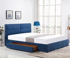 Кровать Кровать Halmar Merida 160 (синий)