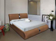 Кровать Кровать ZMF Милана (сп. место 160х200 см., рыжая)