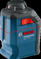 Bosch Лазерный нивелир  GLL 2-20 Professional (0.601.063.J00)