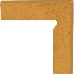 Клинкерная плитка Клинкерная плитка Ceramika Paradyz Aquarius Beige цоколь угловой правый 30x30