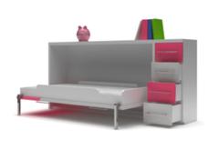 Детская кровать Детская кровать Mebelin бело-розовая