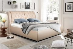 Кровать Кровать ZMF Надежда (сп. место 140х200 см, светлый беж)