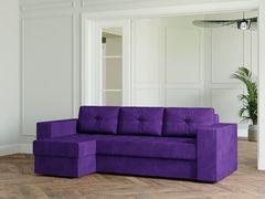 Диван Диван Настоящая мебель Ванкувер Лайт (модель 00-00003480) фиолетовый