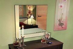 Зеркало Глазовская мебельная фабрика Навесное 7 Амели (венге)