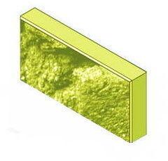 Кирпич Кирпич УДМСиБ бетонный облицовочный 1 ПБ39.19.5,6-П-КОЛ.F150 жёлтый