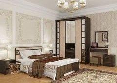 Спальня SV-Мебель Эдем-3 0117 (дуб млечный/дуб венге)