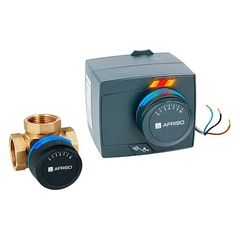 Запорная арматура Afriso Комплект ProClick смесительный клапан ARV 384 DN25 + электропривод ARM 343