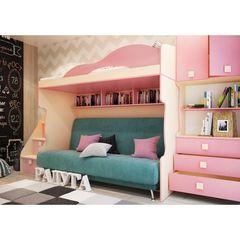 Детская комната Детская комната Горизонт Радуга Фламинго-1
