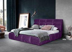 Кровать Кровать ZMF Елена (сп. место160х200см., фиолетовый)