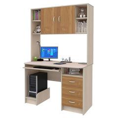 Письменный стол Смолвилль Бук/молочный (185x120x60)
