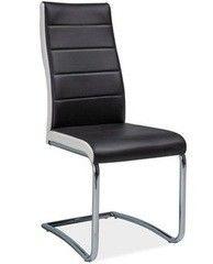 Кухонный стул Signal H-353 (черный/белый)