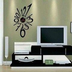 Декоративная светотехника Feron Часы-наклейка NL22