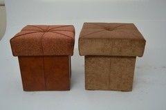 Пуфик Пуфик Вливск-Мебель 35х35х42 см с емкостью для хранения 43