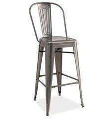Барный стул Барный стул Signal Loft H-1 (матовая сталь)
