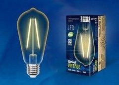 Лампа Лампа Uniel LED-ST64-4W/GOLDEN/E27 GLV22GO