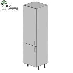 Кухонный шкаф Кухонный шкаф Диприз Пенал Д 9001-33 (2 двери)