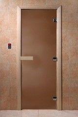 Дверь для бани и сауны Дверь для бани и сауны Doorwood Теплая ночь (700х1900)