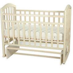 Детская кровать Кроватка Антел Алита-5 (слоновая кость)