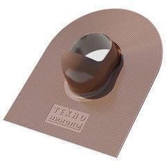 Кровельная вентиляция ТехноНиколь Проходной элемент коричневый