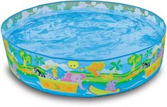 Бассейн Бассейн Intex Каркасный бассейн  Intex Happy Animals Clearview Snapset Pool 122x25 58474