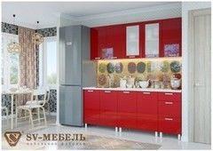 Кухня Кухня SV-Мебель Модерн Гранат