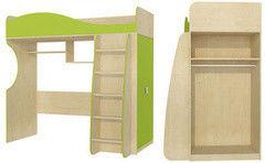 Двухъярусная кровать Мебель-Неман Комби МН 211-01