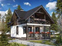 Строительство домов Строительство домов БелДревМонтаж Гармония К 6х9