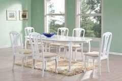 Обеденный стол Обеденный стол Avanti Mozart White (6 стульев)