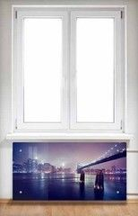 Экран для радиаторов Interno.by из стекла 5