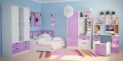 Детская комната Детская комната Гармония Уюта Вариант 42