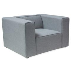 Кресло Кресло Signal Emporio F (Lira 09) светло-серый