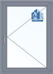 Алюминиевое окно Татпроф 1000*1400 П