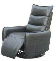 Кресло Halmar Royal раскладное (серое)