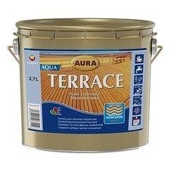 Защитный состав Защитный состав Aura Wood Terrace Aqua (0.7 л) коричневый