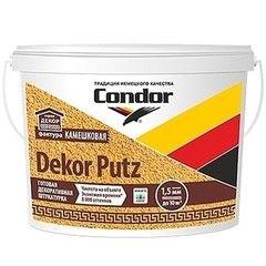 Штукатурка Штукатурка Condor Dekor Putz Камешковая 25 кг (фракция 2,5 мм)