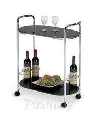 Сервировочный столик Сервировочный столик Halmar Столик сервировочный Halmar Bar-3