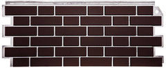 Фасадная панель FineBer Кирпич облицовочный (Britt коричневый)