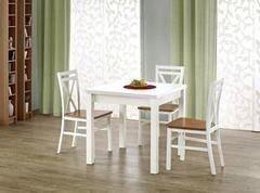 Обеденный стол Обеденный стол Halmar Gracjan (белый) 80-160/80/76