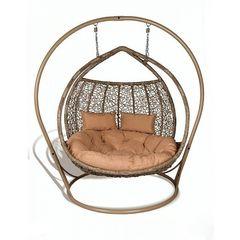 Кресло из ротанга Садовый дворик Галант верба