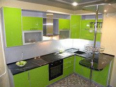 Кухня Кухня на заказ ЗОВ Пластик 4