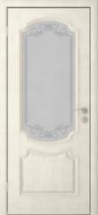 Межкомнатная дверь Межкомнатная дверь Юркас Престиж ДО (слоновая кость)