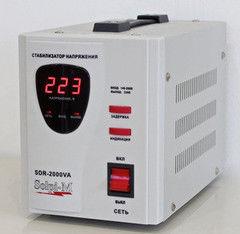 Стабилизатор напряжения Стабилизатор напряжения Solpi-M SDR-2000 ВА