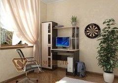 Письменный стол SV-Мебель №1 0135 (дуб млечный/дуб венге)