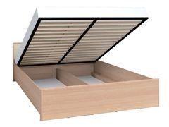 Кровать Кровать Глазовская мебельная фабрика Амели-301 Люкс 1400 с подъемным механизмом