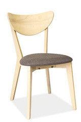Кухонный стул Signal CD-37 (дуб беленый/серый)