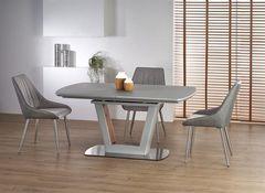 Обеденный стол Обеденный стол Halmar BILOTTI (светло-серый/орех)