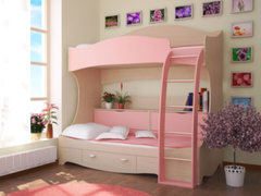 Двухъярусная кровать Ивмител Модель 4Д
