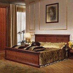 Кровать Кровать Гомельдрев Амелия ГМ 8072 (дуб/ паприка)